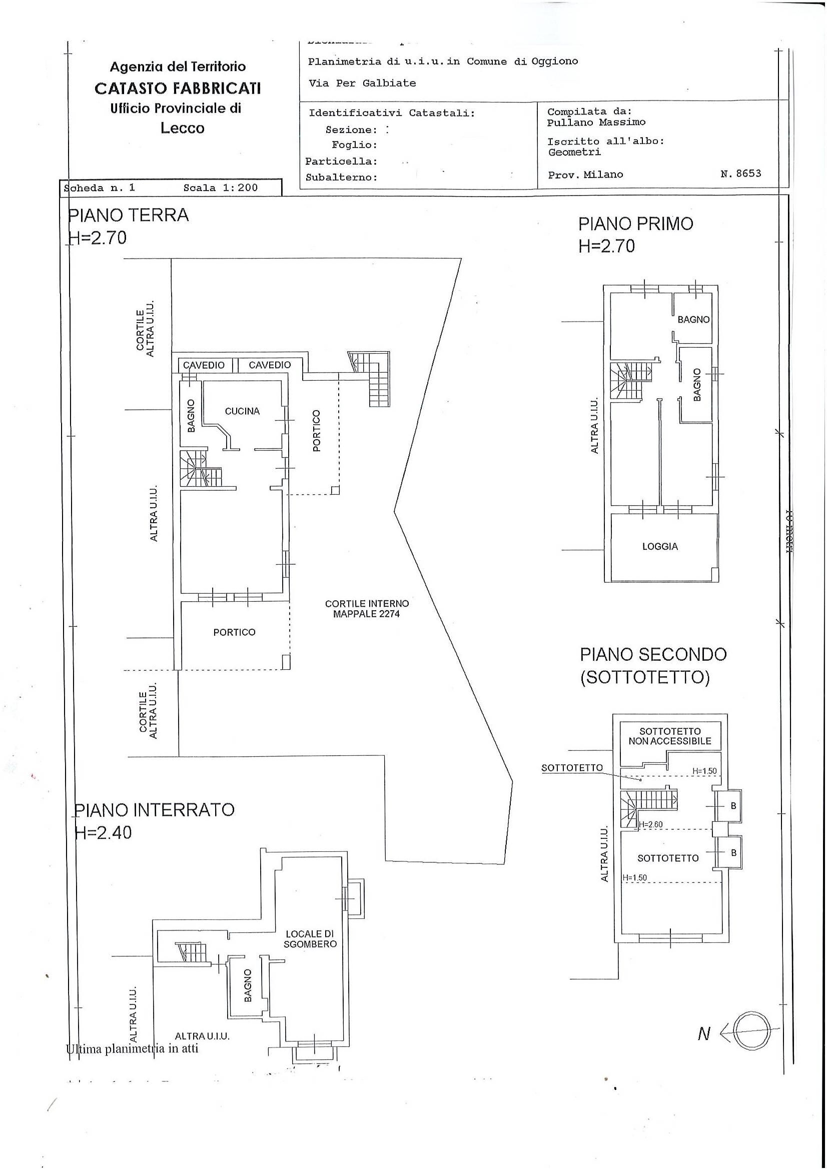 Planimetia abitazione